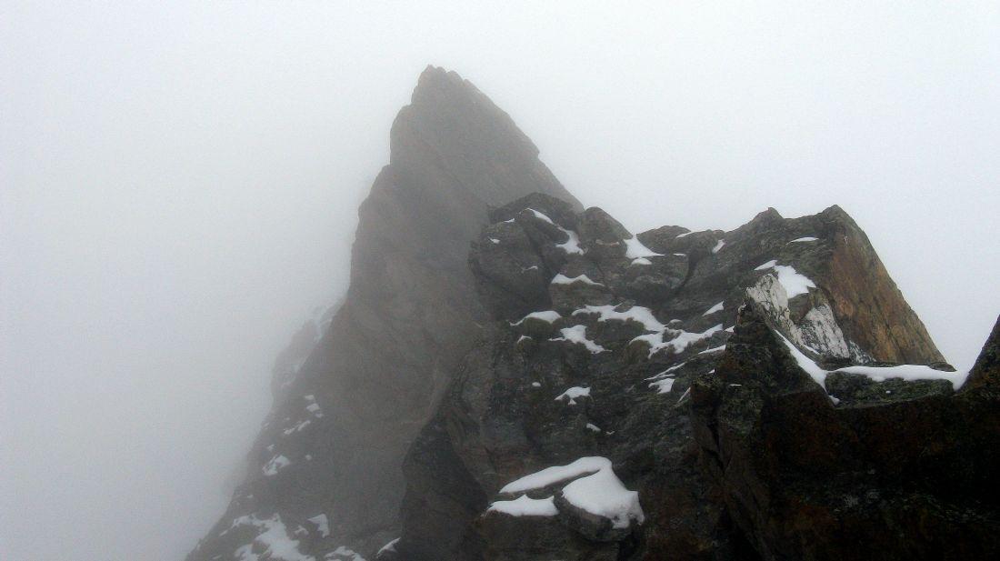 Glacier du Tacul scende verso la Mer de Glasse