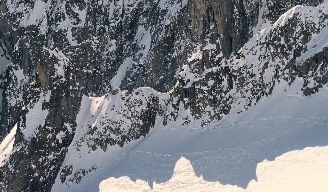 Toula Entreves ghiacciaio freeride
