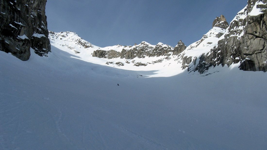 Toula Brenvent ghiacciaio freeride
