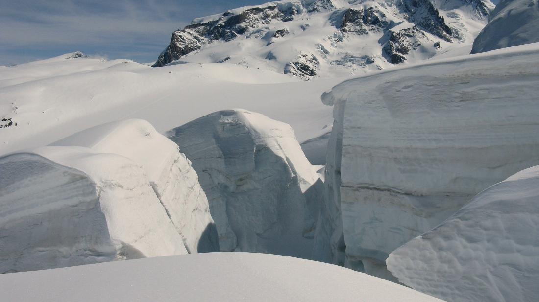 Swartz Gletscher porta nera