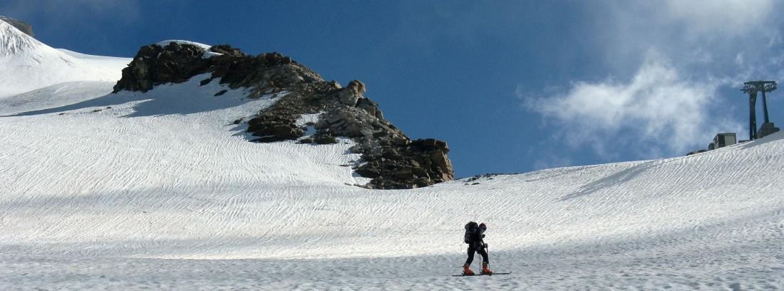 Piramide di Vincent vecchio skilift roccette
