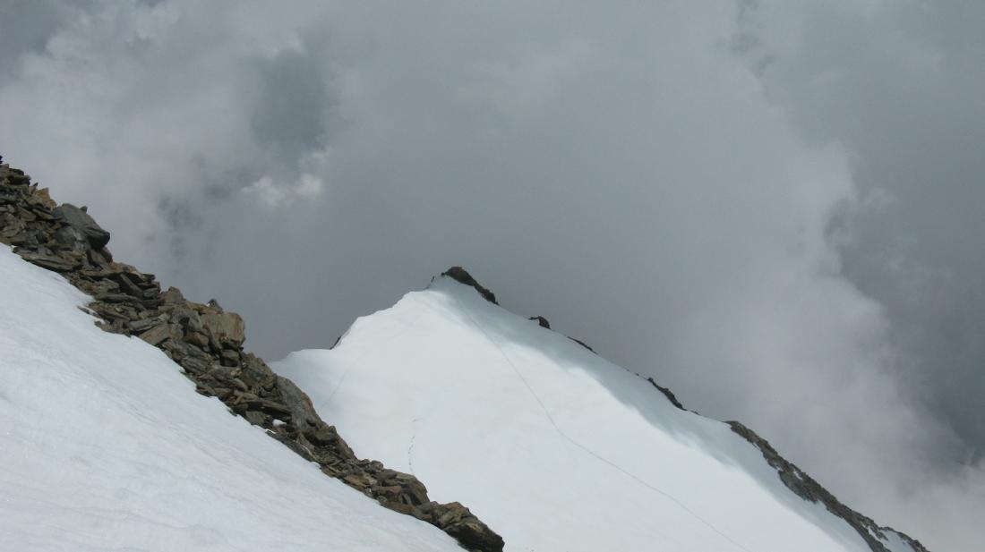 Punta Giordani dall'alto