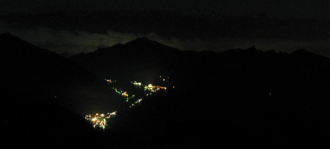 Champoluc brilla nella notte