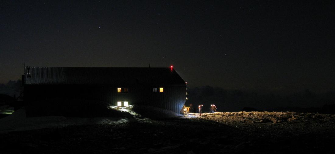 Quintino Sella, le cordate si preparano nella notte