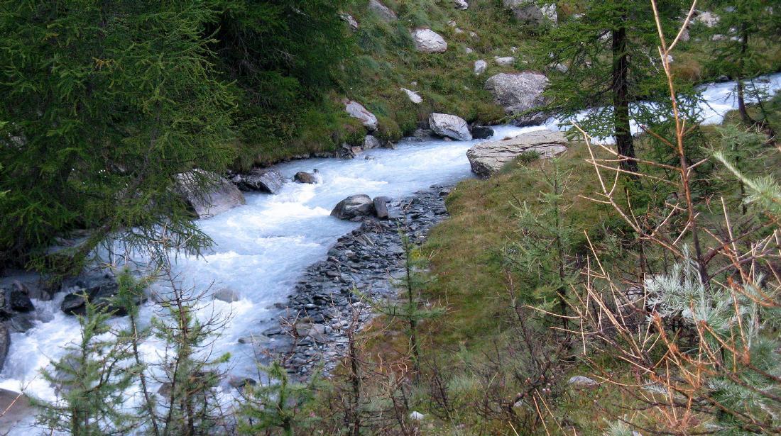 Il nascente Evancon racconta di ghiacci fondenti