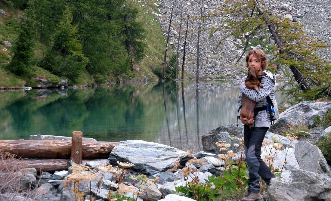 Lago Blu, Miky e Lela